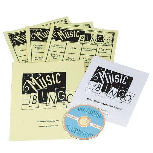 Buy Music Bingo Set 1 at S&S Worldwide