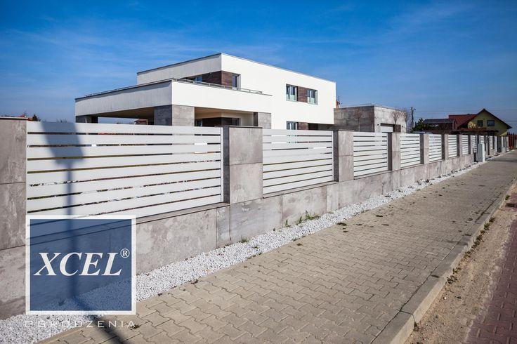 nowoczesne ogrodzenia aluminiowe katowice xcel horizon