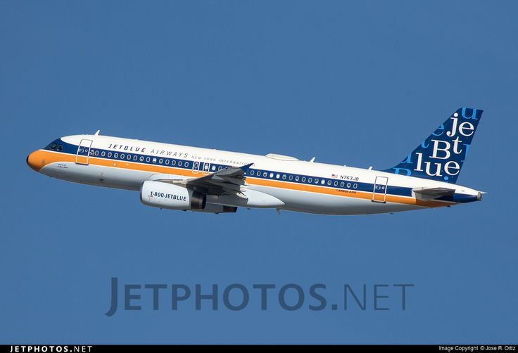 Photo of N763JB Airbus A320-232 by Jose R. Ortiz