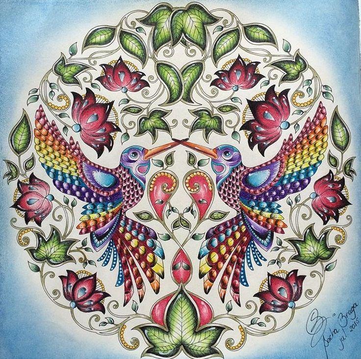 Inspirational Coloring Pages By Bragasacha Inspiracao Coloringbooks Livrosdecolorir Jardimsecreto Secretgarden