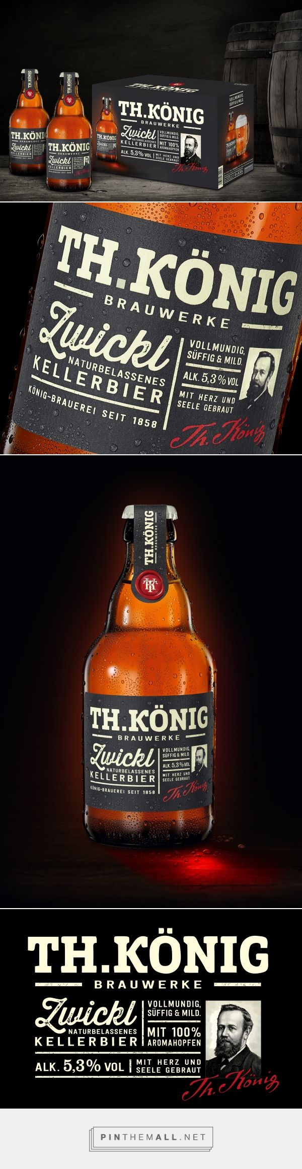 Th. Koenig Specialty Beer - Packaging of the World - Creative Package Design Gallery - http://www.packagingoftheworld.com/2016/08/th-koenig-specialty-beer.html