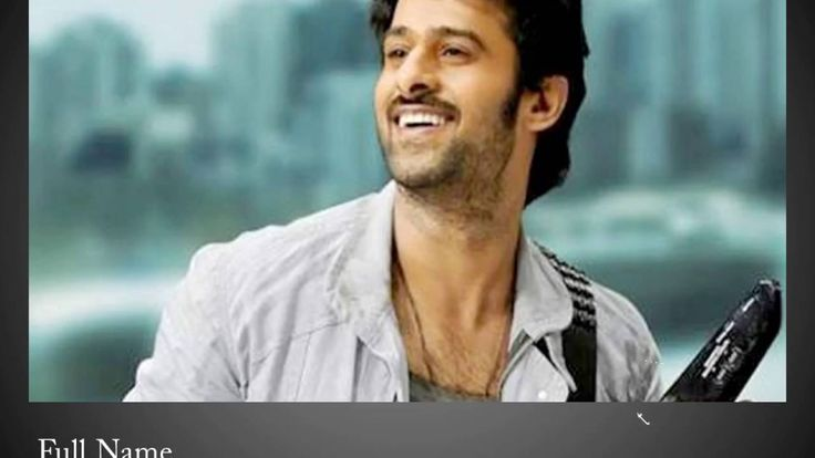 Prabhas - Biography | family | movies | photos | Awards - celebritiesoft...