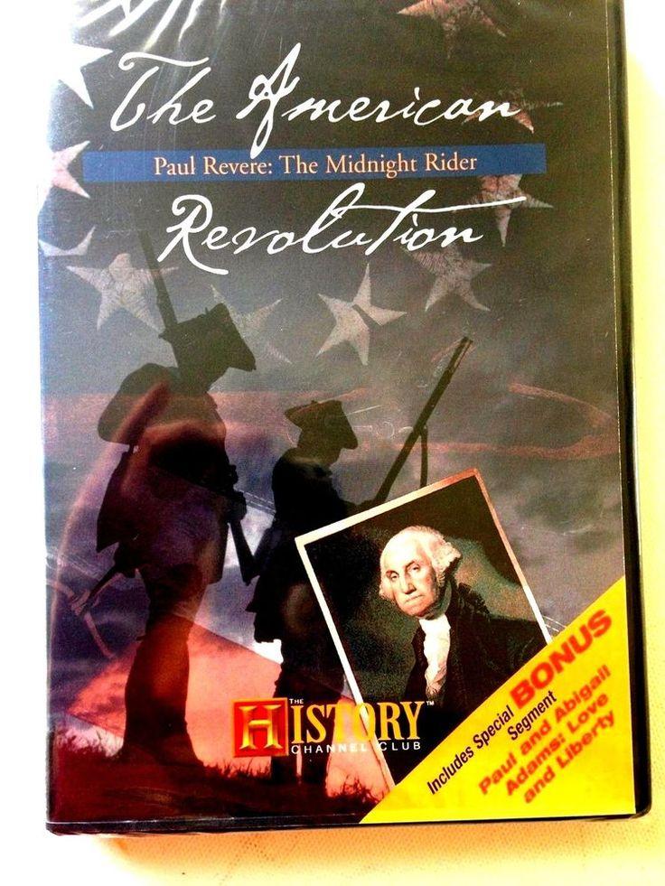 HISTORY CHANNEL CLUB DVD Paul Revere midnight rider  Bonus JOHN AND ABIGAIL ADAM    eBay