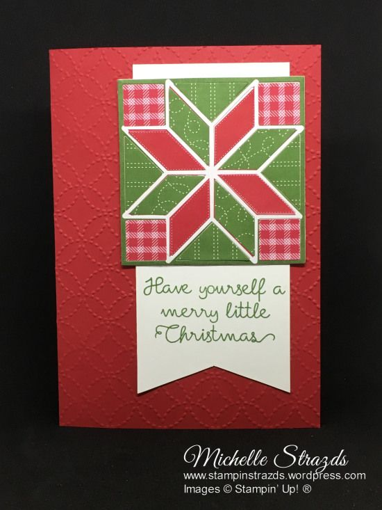 """The challenge this week at CASEing the Catty (#CTC156) was to take any project from the Annual Catalogue and give it a Christmas Twist. I decided to CASE the green """"lemon"""" card on the …"""