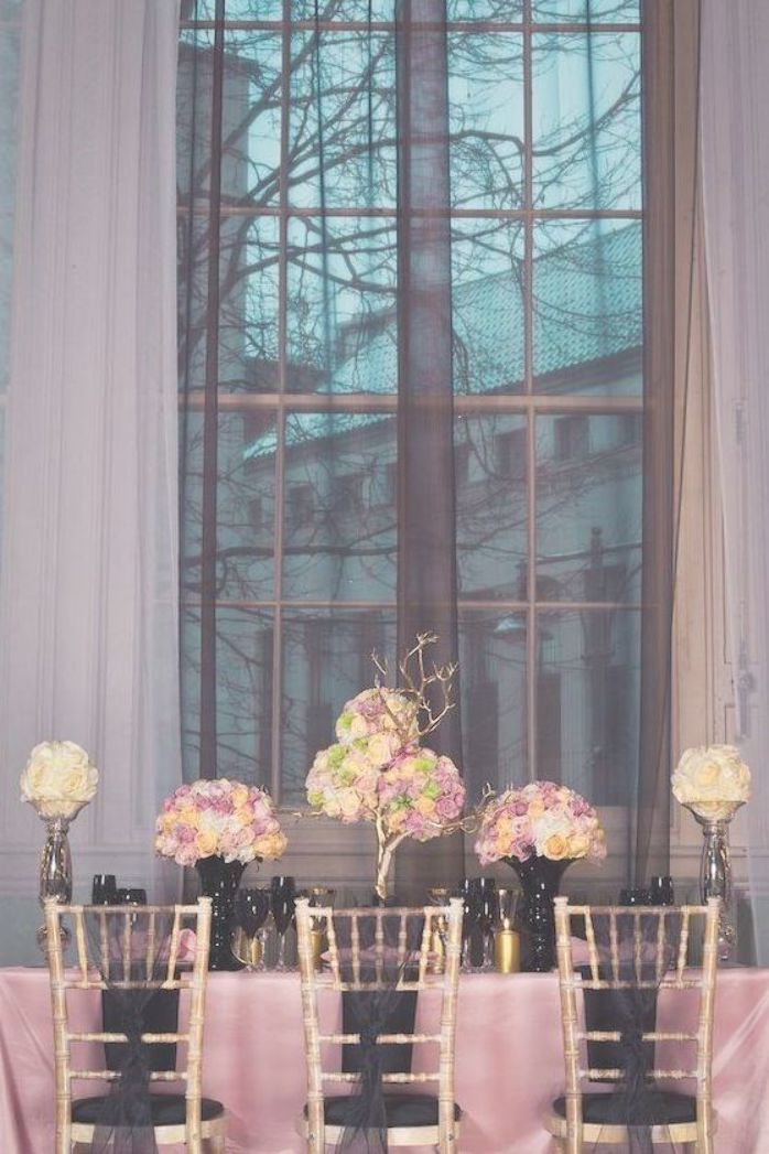 Chanel Inspired Weddings Chanel Inspired Wedding A Styled