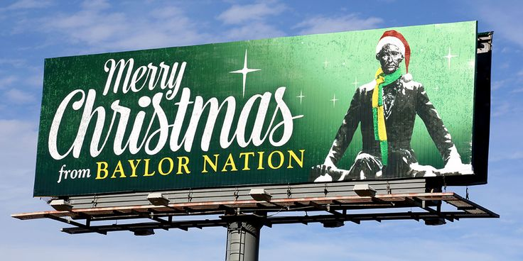 Merry Christmas from #Baylor University! // (click through for Christmas at Baylor 2013 in photos): Photo
