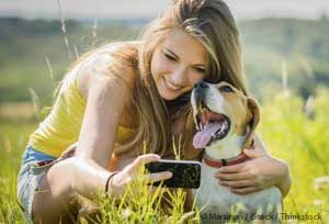 Positive Identification of Pet (PiP) is a new app that uses facial recognition technology to help locate lost pets. http://healthypets.mercola.com/sites/healthypets/archive/2014/02/26/two-way-petcam-pet-finder.aspx