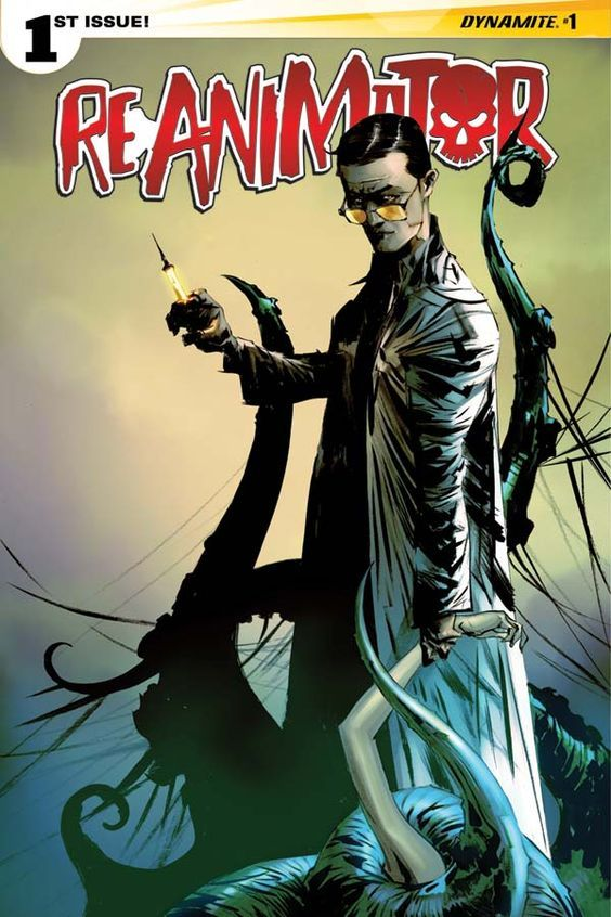 Dynamite Entertainment proudly resurrects one of horror's most infamous villains in Reanimator, a four-issue miniseries written by Keith Davidsen and illustrated by Randy Valiente. Featuring the notorious Dr. Herbert West — the mad scientist created...: