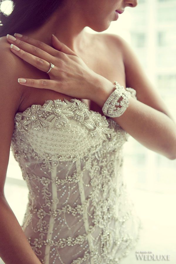 229 best Ines Di Santo images on Pinterest | Short wedding gowns ...
