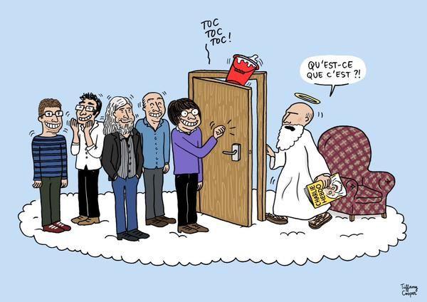 A découvrir demain dans ELLE : la jeune génération de dessinateurs célèbre #CharlieHebdo en 14 dessins inédits