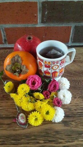 Tea &flowers
