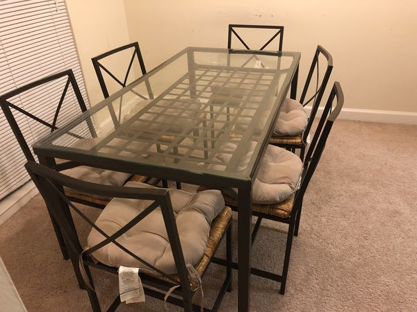 Dining Room Sets Table 6 Chairs Pillows Furniture In Fairfax