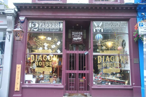 There Are Two New Harry Potter Shops In Edinburgh And They Re Pure Magic Harry Potter Shop Harry Potter Gifts Edinburgh