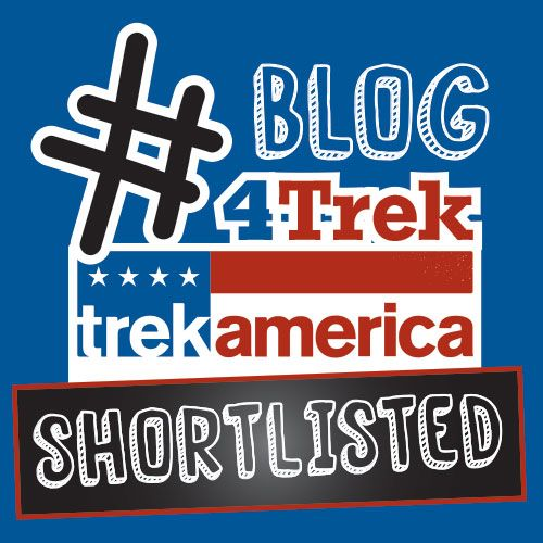 I'm through to stage two of the #Blog4Trek competition!
