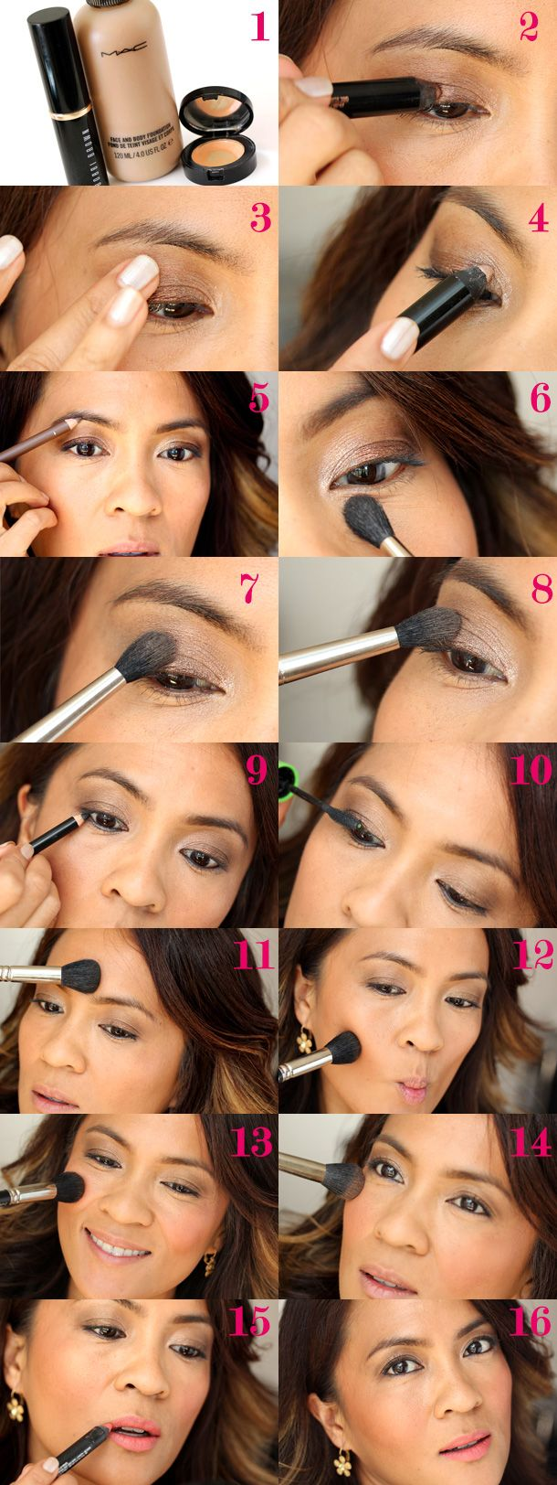 140 best devoted to mac images on pinterest beauty makeup a two brush makeup tutorial with the mac 224 and 109 baditri Image collections
