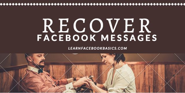 How to Recover deleted Facebook Messages | How to retrieve deleted text messages - Facebook recovery