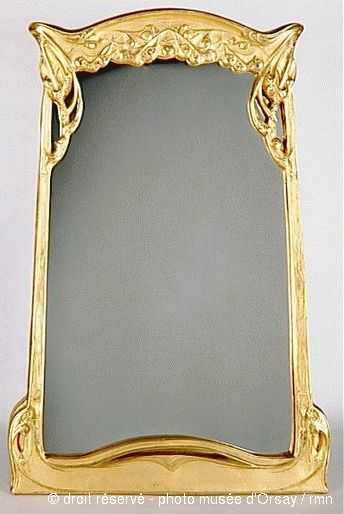 116 best hector guimard 1867 1942 images on pinterest for Miroir art nouveau