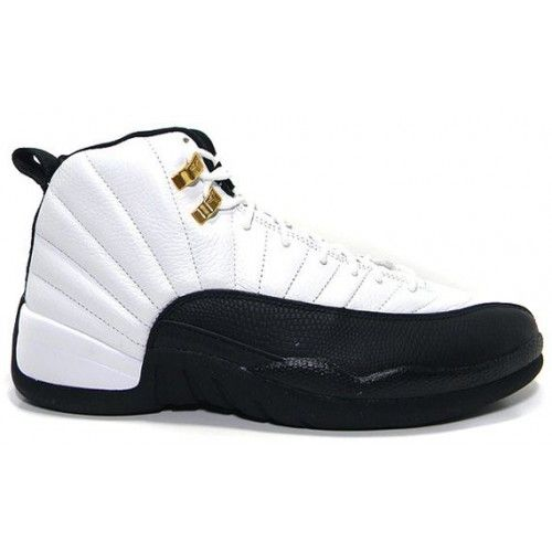 Order 130690-125 Air Jordan 12 (XII) Taxi Retro 2013 White Black For