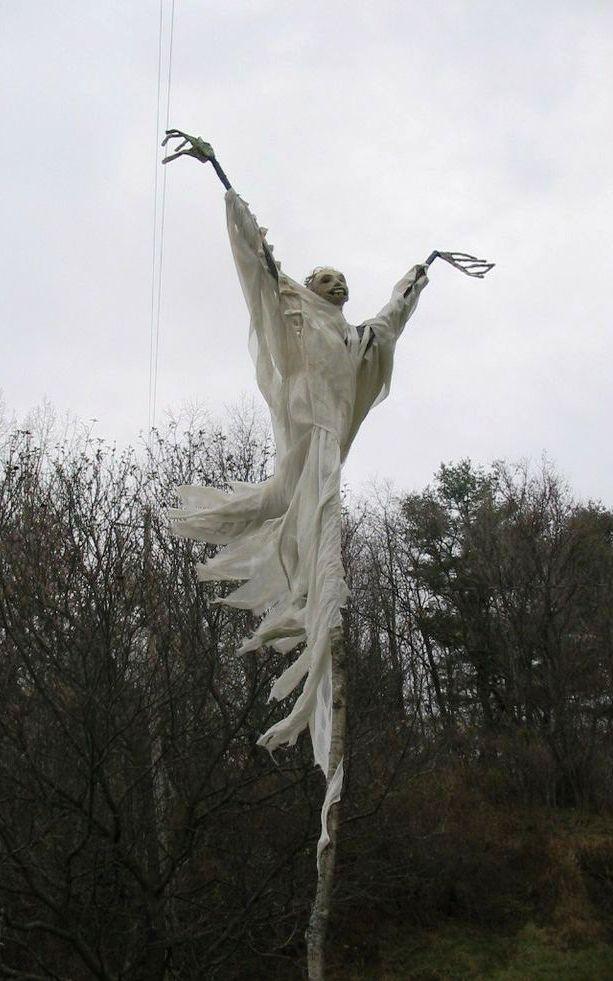 Scarecrow Ghosts Halloween Decorations