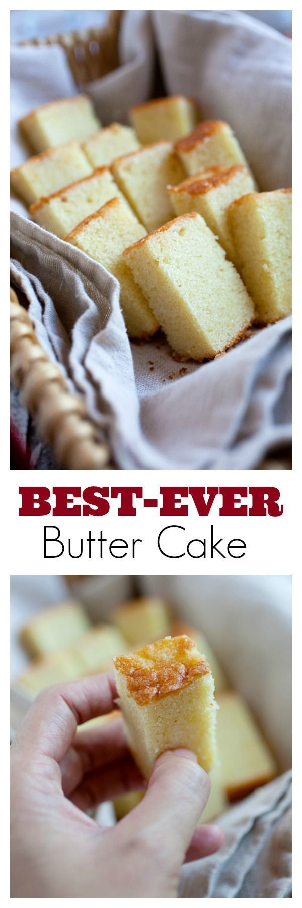 Butter Cake - The BEST and only butter cake recipe you'll need. Super delicious, moist, extremely rich and buttery butter cake | http://rasamalaysia.com