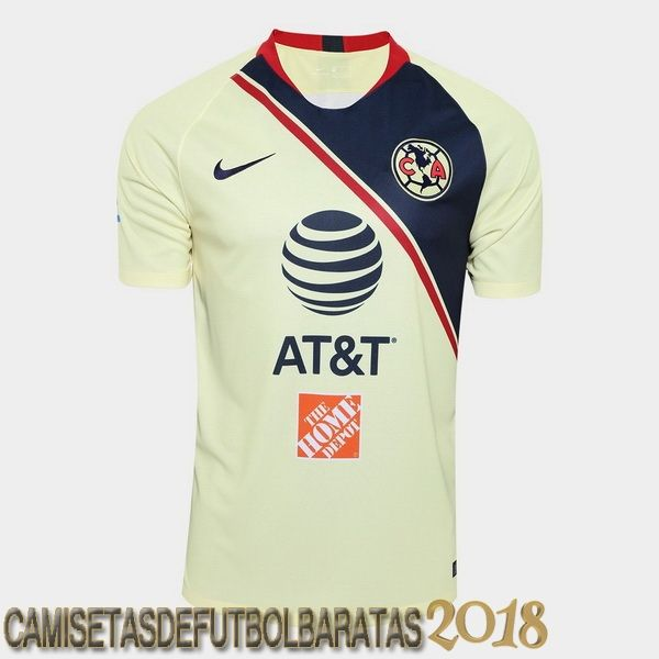 info for 97dd7 efaf5 Casa Camiseta Club America 2018/2019 Baratas | Camiseta De ...