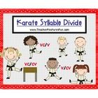 How do you teach this, anyway?  If you have ever wondered this (and who hasn't) then Karate Syllable Divide will be your answer! ----Check out my o...