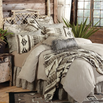 Love, love, love the leather charcoal pillow in the center...don't love price...sigh...