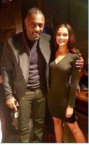 #HOT: Amy Jackson poses with Idris Elba! | PINKVILLA