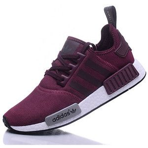 Women S Adidas Nmd Runner Casual Shoes Grey And Pink