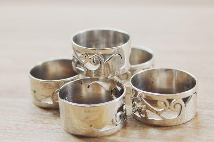 Tribe Sterling Silver Ring | Plain Stacking Rings | www.nakedfaun.com