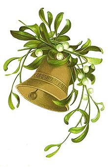 Free Clipart - Christmas Bell                                                                                                                                                                                 More