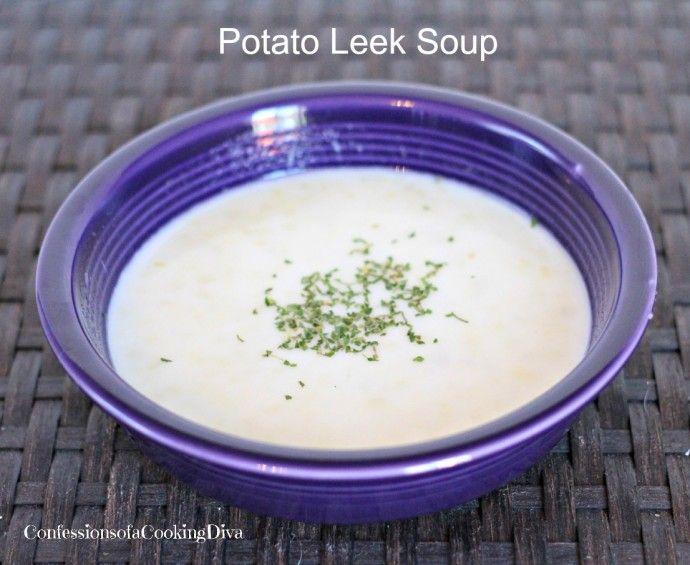 German Leek And Potato Soup Recipe — Dishmaps