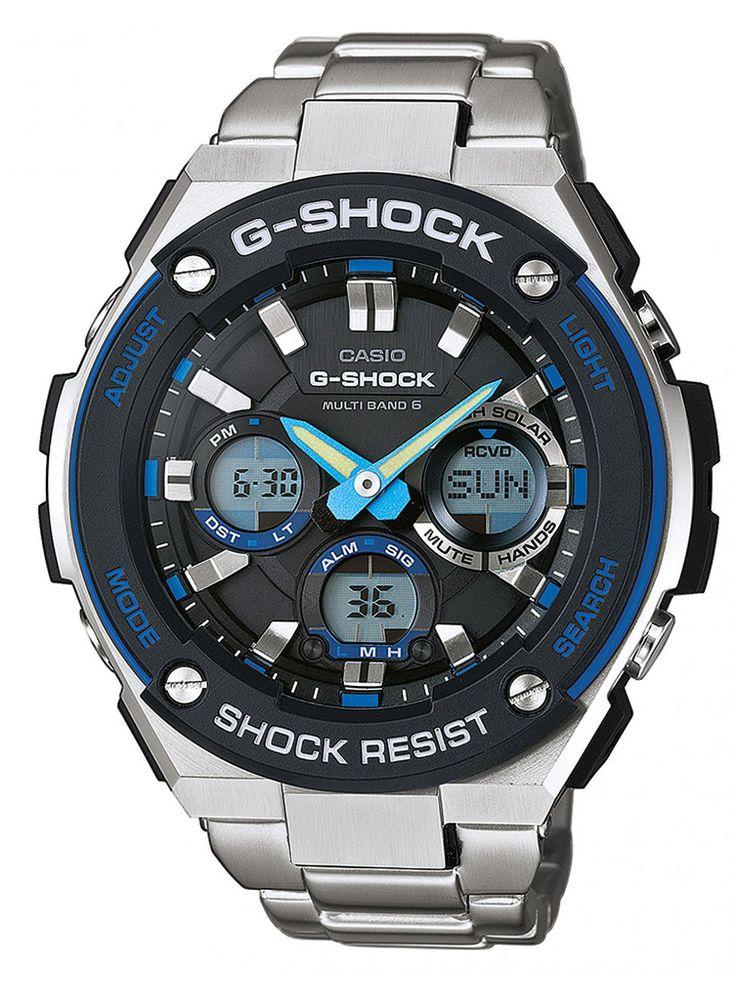 CASIO G-Shock Solar Radio Watch GST-W100D-1A2ER