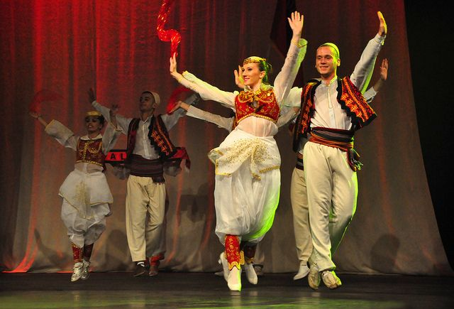 The Albanian clothing heritage consists of numerous traditional dresses because this country was dominated by various invaders since the Middle Ages. Presently the Republic of Albania is divided into 12 administrative counties and the each county has its own traditional costume. But overall the traditional dress of Albania is full of colors and richness in designs.