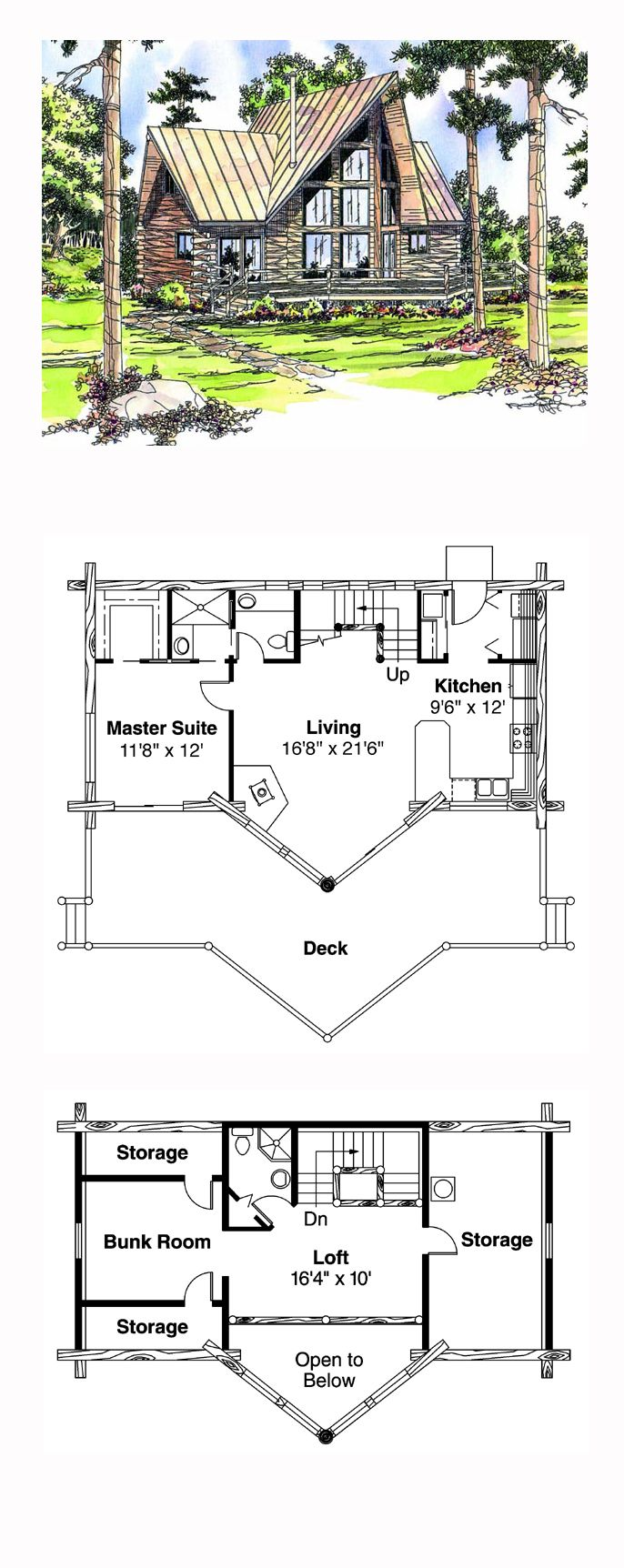 1000 Images About Log Cabin Home Plans On Pinterest