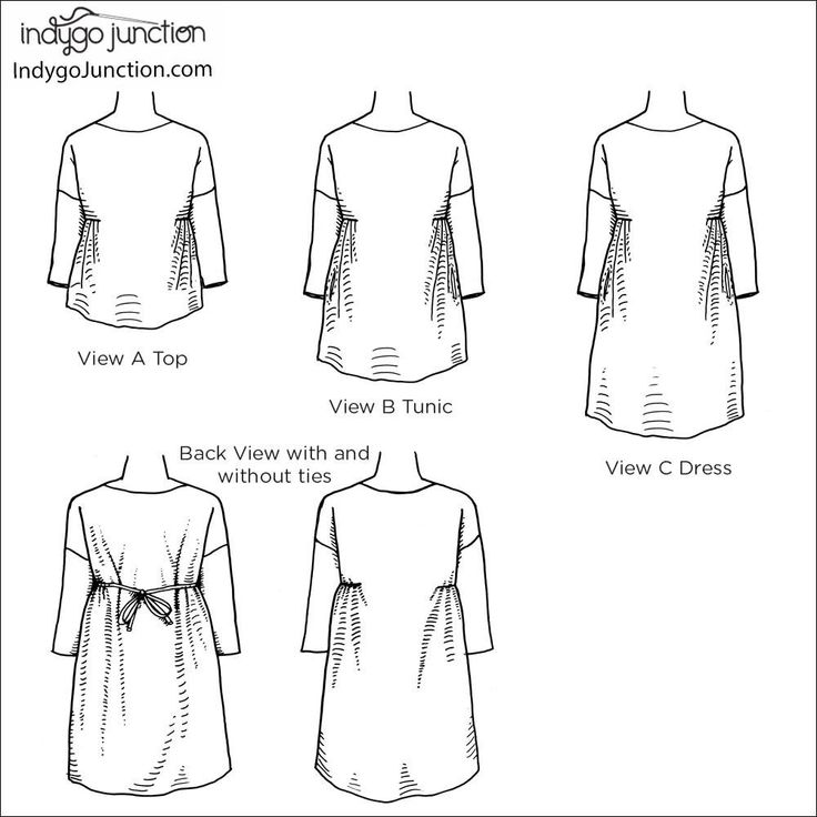Katelyn's Dress, Tunic & Top