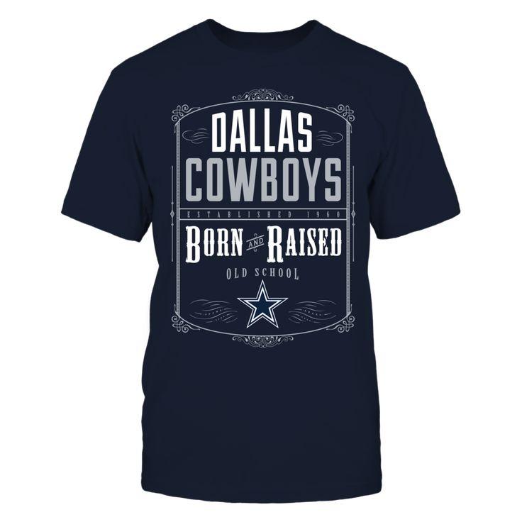 Dallas Cowboys - Born & Raised Officially Licensed Designs Powered By FanPrint - #cowboys #dallas #nfl #football