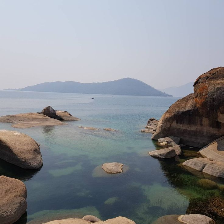 Otter Point in Cape Maclear, Malawi