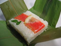 Sushi  http://www.madehow.com/Volume-7/Sushi-Roll.html
