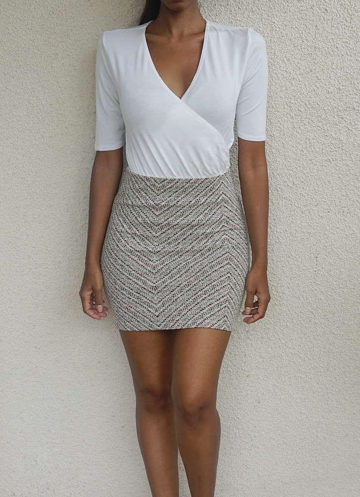 CAMAIEU - pretty classy mini skirt