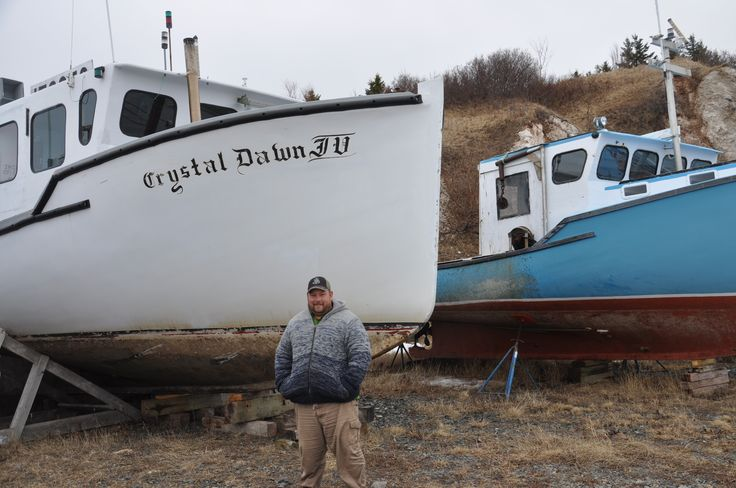 the lobster vessel I will be working on this spring out of Mabou Harbour