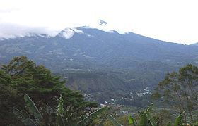 Volcan Baru is the Highest Point in Panama at 11,398 ft (3,474 m)