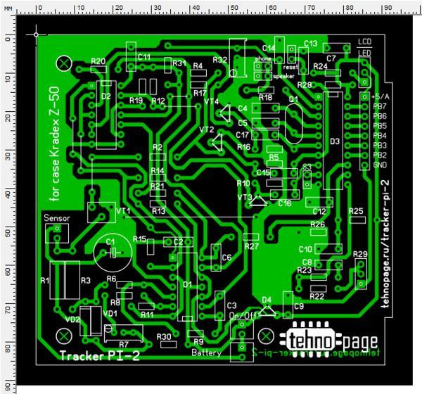 Metal Detector Surf Pi Pro Detektor Logam Rangkaian Elektronik