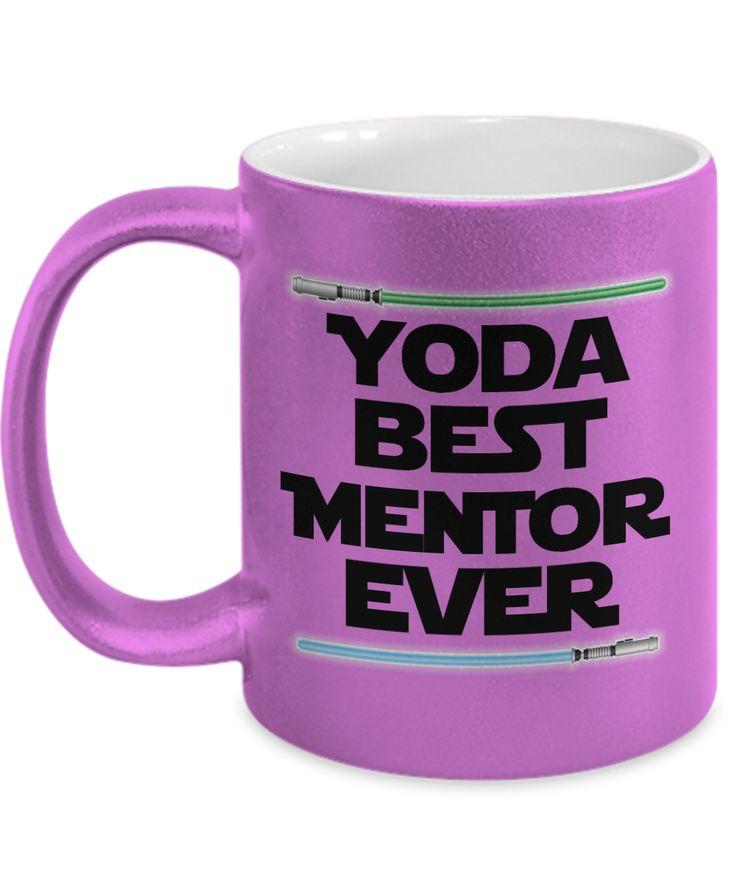Yoda Mentor Mug - Yoda Best Mentor - Mentor Mentee Gifts Mentoring Mugs Gift