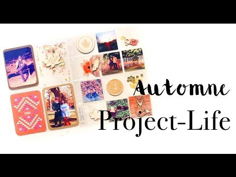 TUTO : project life d'automne ( Sagapo-Scrap) - YouTube