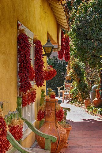 Red and Yellow | Much Ado About Adobe | Pinterest | New Mexico, Mexico and Santa Fe