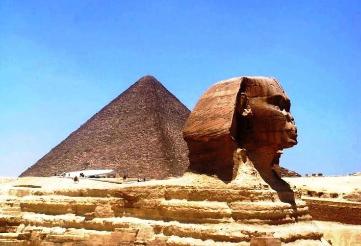 Piramides de Gizé e Esfinge - Egito Maravilha n° 1