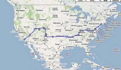 Drive Across the US