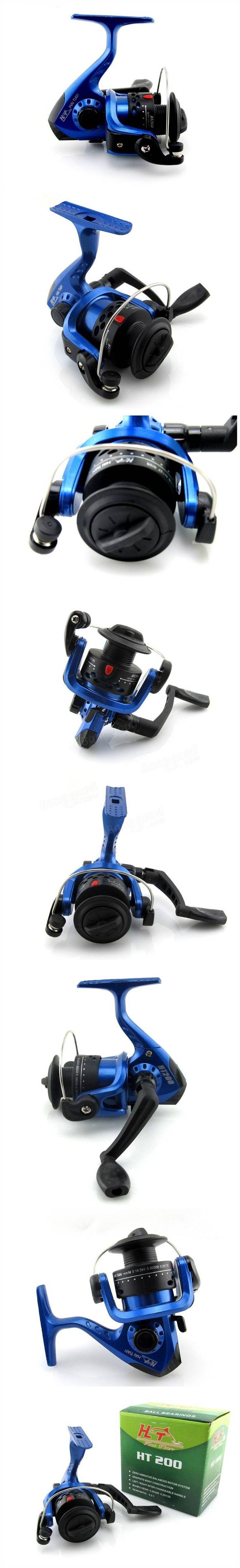 Seaknight HT200 Spinning Fishing Reel Bearings 1BB Gear Ratio 5.2:1 Left/Right Hand