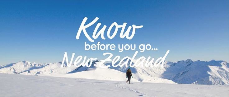 34 Things to know before you visit New Zealand